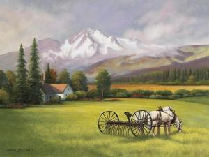 Harvest in the Rockies by John Zaccheo