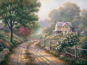 Lilac Morning by John Zaccheo