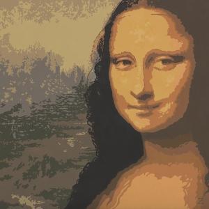 Mona Liza by John Zaccheo