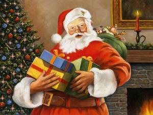 Presents from Santa by John Zaccheo