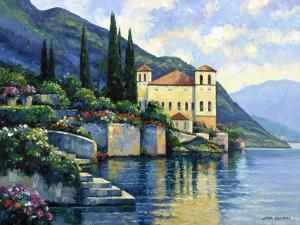 Reflections of Lago Maggiore by John Zaccheo