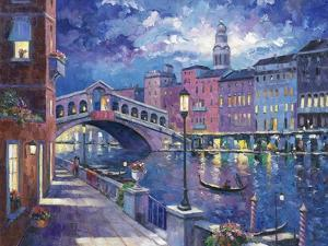 Rialto Bridge by John Zaccheo