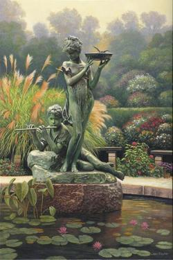 The Fountain II by John Zaccheo