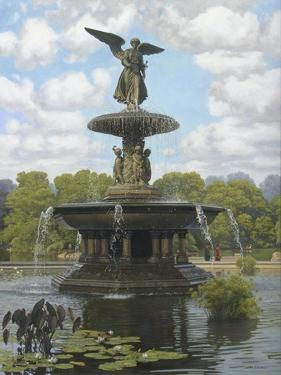 The Fountain by John Zaccheo