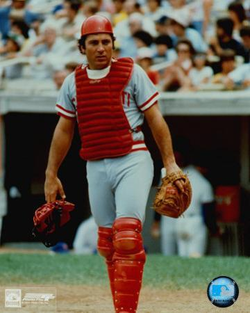 Johnny Bench - Catchers Gear
