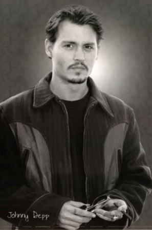 Johnny Depp Cigar and Sunglasses Movie Poster Print