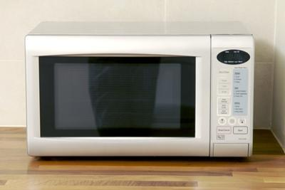Domestic Microwave Oven by Johnny Greig