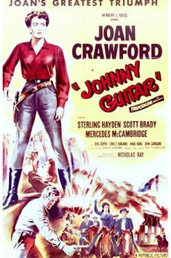 Johnny Guitar - Movie Poster Reproduction