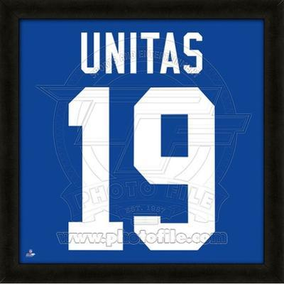 Johnny Unitas, Colts representation of the player's jersey