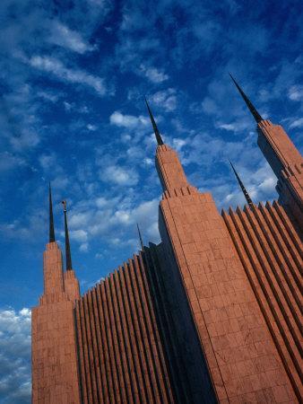 Exterior of Mormon Temple, Jackson, Washington Dc, USA