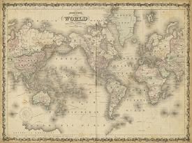 Affordable World Maps Framed Art for sale at AllPosters.com