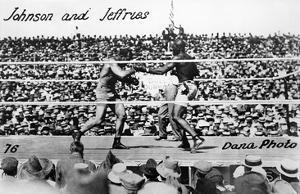 Johnson vs Jeffries, 1910
