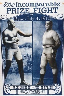 Johnson vs Jeffries, 1910