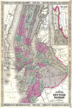 New York City & Brooklyn 1866 by Johnson Wiki Common