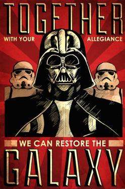 Join Me To Restore The Galaxy