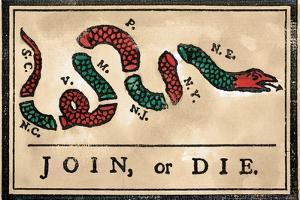 Join or Die Cartoon, 1754