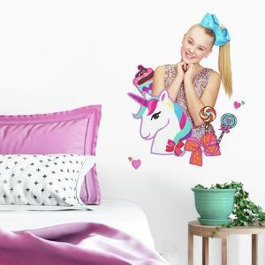 Jojo Siwa Unicorn Dream Peel And Stick Giant Wall Decals