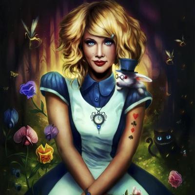 Alice in Wonderland by JoJoesArt