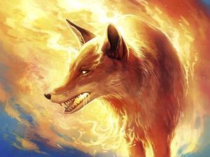 Fire Fox by JoJoesArt