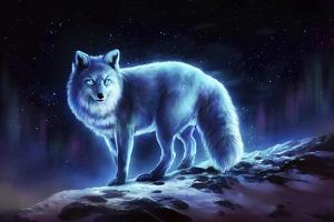 Ice Fox by JoJoesArt