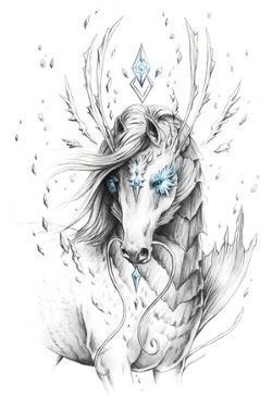 Sea Horse by JoJoesArt