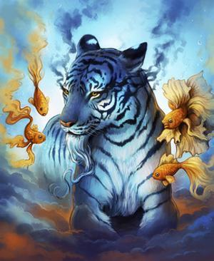 Tiger Fish by JoJoesArt