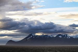 Chile, Patagonia. Strait of Magellan landscape. by Jolly Sienda