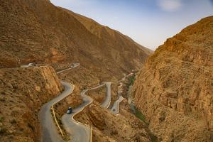 Dades Gorge, Dades Valley, Morocco. Dades Gorge Valley road by Jolly Sienda