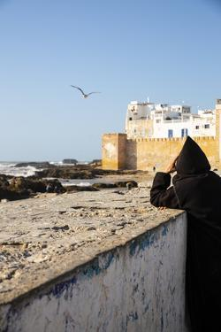 Essaouira, Morocco. Watching the sea and a seagull by Jolly Sienda
