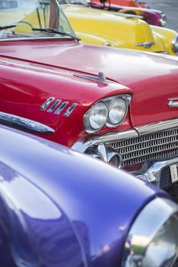 1958 Chevrolet Impala, Parque Central, Havana, Cuba by Jon Arnold