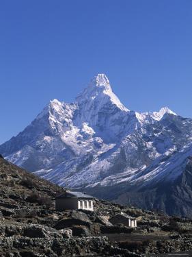 Ama Dablam, Himalayas, Nepal by Jon Arnold