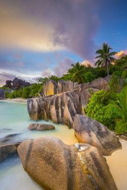 Anse Source D'Argent Beach, La Digue, Seychelles by Jon Arnold