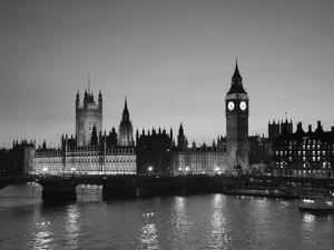 Big Ben and Houses of Parliament, London, England by Jon Arnold