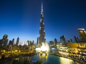 Burj Khalifa (World's Tallest Building), Downtown, Dubai, United Arab Emirates by Jon Arnold
