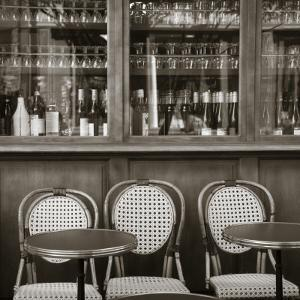 Cafe/Brasserie, Marais District, Paris, France by Jon Arnold
