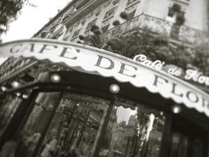 Cafe De Flore, Boulevard St. Germain, Paris, France by Jon Arnold