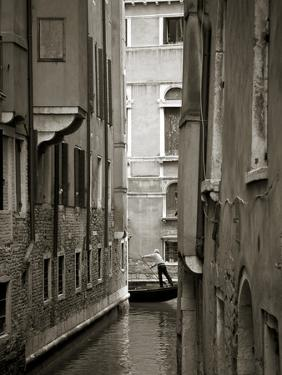 Canal in Venice, Italy by Jon Arnold