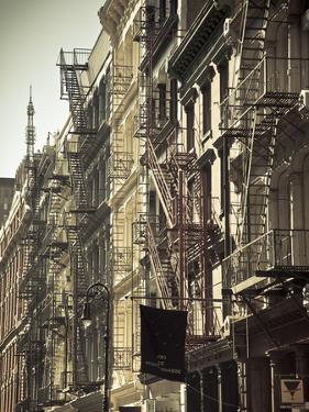 Cast Iron Architecture, Greene Street, Soho, Manhattan, New York City, USA by Jon Arnold