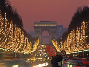 Champs Elysees, Paris, France by Jon Arnold