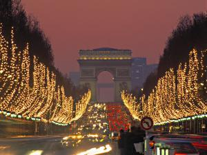 Champs Elysees, Paris, France by Jon Arnold