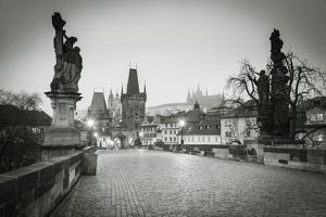 Charles Bridge, (Karluv Most), Prague, Czech Republic by Jon Arnold