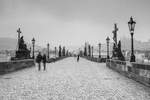 Charles Bridge, (Karluv Most), Prague, Czech Republic by Jon Arnold