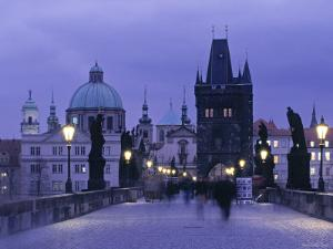 Charles Bridge, Prague, Czech Republic by Jon Arnold