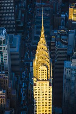 Chrysler Building and Lexington Avenue, Manhattan, New York City, New York, USA by Jon Arnold