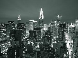 Chrysler Building and Midtown Manhattan Skyline, New York City, USA by Jon Arnold