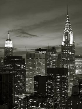 Chrysler Building and Midtown Manhattan Skyline, New York City, USA by Jon Arnold