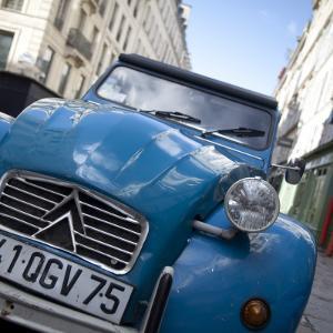 Citroen 2Cv Car in Paris, France by Jon Arnold