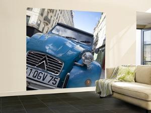 Citroen 2Cv Car in Paris, France by Jon Arnold