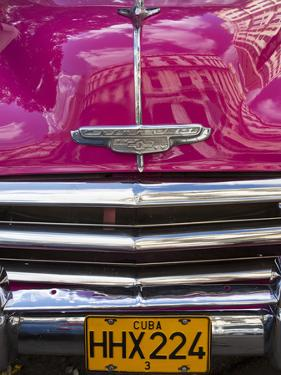 Classic American Car (Chevrolet), Havana, Cuba by Jon Arnold