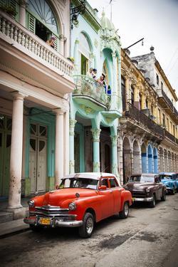 Classic American Car (Plymouth), Havana, Cuba by Jon Arnold